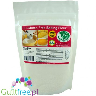 LC Foods Gluten Free Low Carb Baking Flour