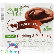 Simply Delish Sugar Free Pudding and Pie Filling, Instant, Chocolate