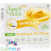 Simply Delish Sugar Free Pudding and Pie Filling, Instant, Vanilla