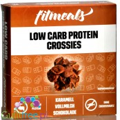 FitMeals Low Carb Protein Snack Crossies Caramel & Chocolate