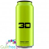 3D Green (Mountain Dew) sugar free energy drink