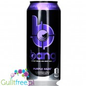 VPX Bang Purple Haze sugar free energy drink with BCAA, SuperCreatine and CoQ10