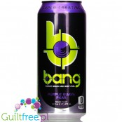 VPX Bang Purple Guava & Pear sugar free energy drink with BCAA, SuperCreatine and CoQ10