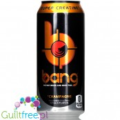 VPX Bang Champagne sugar free energy drink with BCAA, SuperCreatine and CoQ10