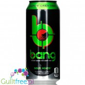 VPX Bang Sour Heads sugar free energy drink with BCAA, SuperCreatine and CoQ10