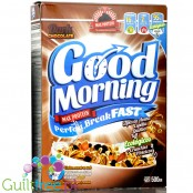 MAX Protein Good Morning Perfect Breakfast Dark Chocolate 0,5kg orgnic protein cereal