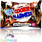 Cookie Madness - Choc Chip Hazelnut, 2 organic protein cookies