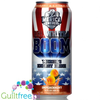 Merica Labz Merica Energy Impeachment sugar free energy drink