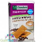 Tagatesse coffee waffers with tagatose