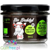 Mr Daktylbio vegan date-coconut chocolate spread with no added sugar