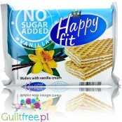 FLIS Happy Fit no added sugar waffers with vanilla cream
