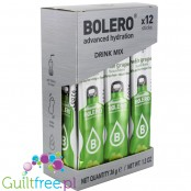Bolero Sticks Stevia White Grape, instant drink, 12 sachets