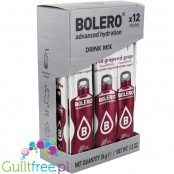 Bolero Sticks Stevia Red Grape, instant drink, 12 sachets