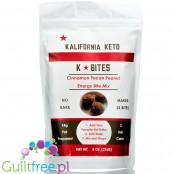 Kalifornia Keto K Bites, Energy Bite Mix, Cinnamon Pecan Peanut 8 oz