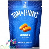 Tom & Jenny's Sugar Free Soft Caramels, Ginger 2.9 oz