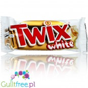 Twix White in white chocolate coating, EU version (CHEAT MEAL)