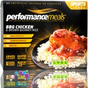 Performance Meal - Tray - BBQ Chicken