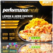 Performance Meal - Tray - Lemon & Herb Chicken