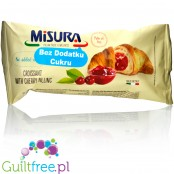 Misura no sugar added croissant with cherry filling