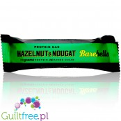 Barebells Hazelnut & Nougat  no added sugar protein bar