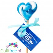 Stewiarnia sugar free blueberry flavored lollipop with stevia