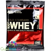 Optimum Nutrition, Whey Gold Standard 100%, Strawberry, saszetka