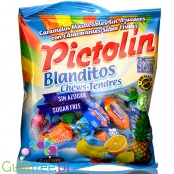Pictolin Blanditos Tropical, miękkie cukierki bez cukru do żucia