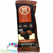 Bhu Foods Keto Bar, Double Dark Chocolate Cookie Dough