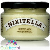 Mixitella cconut spread with sugar free Belgian white chocolate