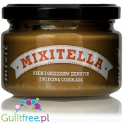 Mixitella - no sugar added hazelnut spread with Belgian milk chocolate