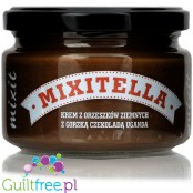 Mixitella - no sugar added peanut spread with Uganda dark chocolate