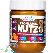 Professor Nutz™ zero carb & zero fat peanut butter with AD Vantage™ Fat Blocker and AD Vantage™ Carb Blocker