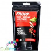 Celiko Frupp Snack - lyophylised veggies - Beetroot, Tomato, Parsnip