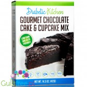 Diabetic Kitchen Gourmet Chocolate Cake & Cupcake Mix 14.5 oz.