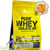 Olimp Pure Whey Isolate 95% Peanut Butter, 0,6kg