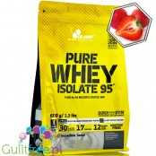 Olimp Pure Whey Isolate 95% Strawberry, 0,6kg