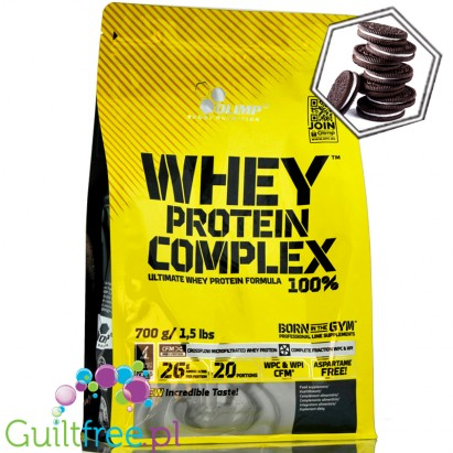 Olimp Whey Protein Complex 100% 0,7 kg bag cookies cream