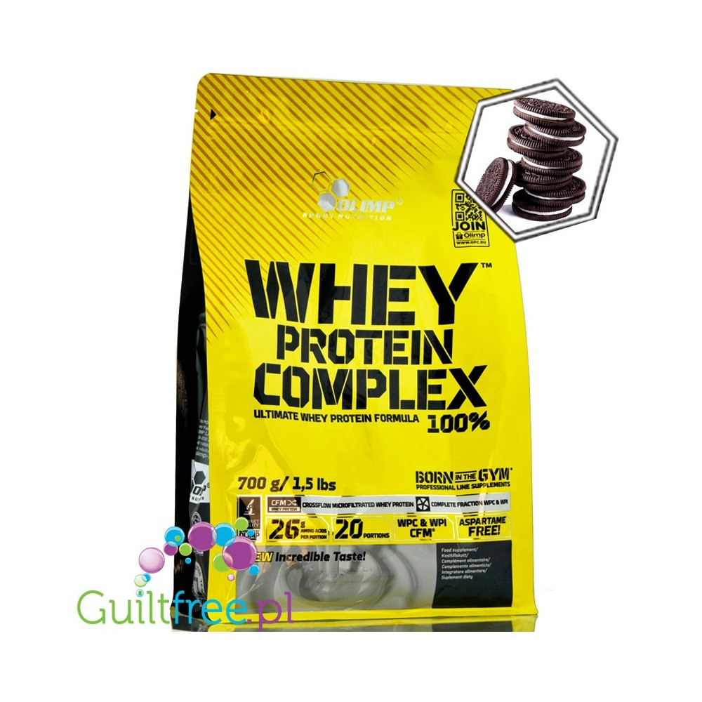 olimp whey protein complex 100 0 7 kg cookies cream. Black Bedroom Furniture Sets. Home Design Ideas
