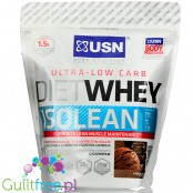 USN Ultra-Low Carb Diet Whey Isolean chocolate flavor