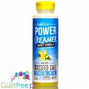 Omega Power Creamer, Sweet Vanilla with Stevia 10 oz