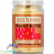 Nuts' n More All Natural Peanut Powder Maple