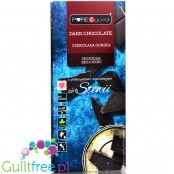 Pure & Good sugar free dark chocolate sweetened only with stevia and erythritol