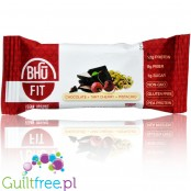 Bhu Vegan Organic Pea Protein Bar, Chocolate + Tart Cherry