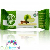 Bhu Vegan Organic Pea Protein Bar, Apple Cinnamon Nutmeg