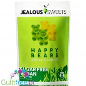 Jealous Sweets Happy Bears vegan sugar free jelly bears with stevia, Apple & Lemon flavor