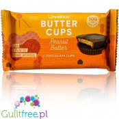 LoveRaw 2 Peanut Butter Chocolate Butter Cups
