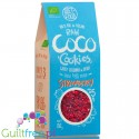 Diet Food Raw Coco, Strawberry - bio coconut cookies with low GI