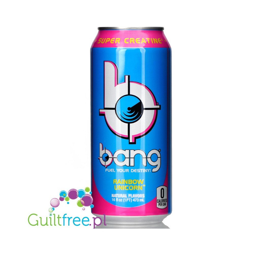 defd6c1be06 VPX Bang Rainbow Unicorn sugar free energy drink with BCAA, SuperCreatine  and CoQ10. Loading zoom