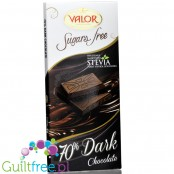 Valor sugar free dark chcolate with stevia