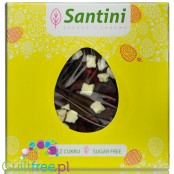 Santini Easter, sugar free milk chocolate with cherries and apples